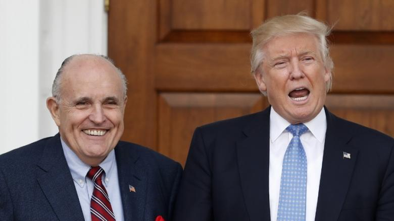 One Bathroom Accident Could Be What Saved Us From Secretary Of State Giuliani