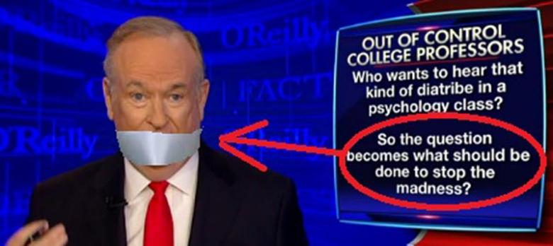 Bill O'Reilly Joins Dangerous Witch Hunt Against Professor Already In Hiding