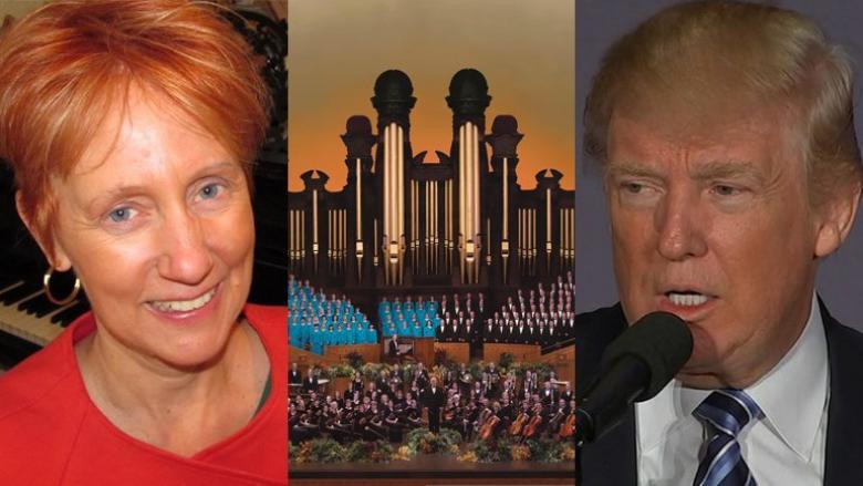 Mormon Tabernacle Woman Quits Choir,  Likens Trump To Hitler