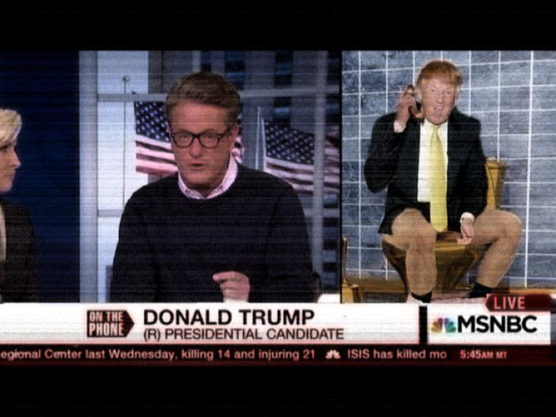 Crookie Award Worst Media Of The Year (Not Fox): Joe And Mika's Trump Call-Ins