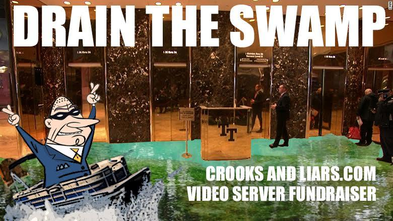Donate To C&L's Holiday Fundraiser To Help 'Drain The Swamp'