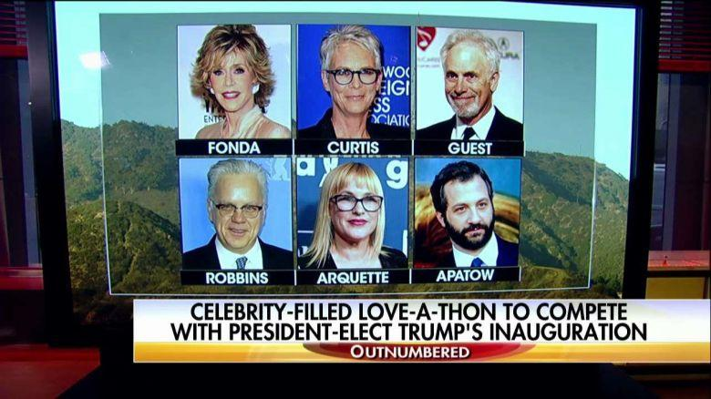 Celebrity Telethon On Inauguration Day Infuriates Fox News