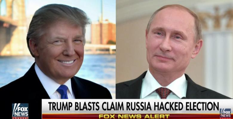 Trump Calls Russian Hacking Stories: 'A Political Witch Hunt'