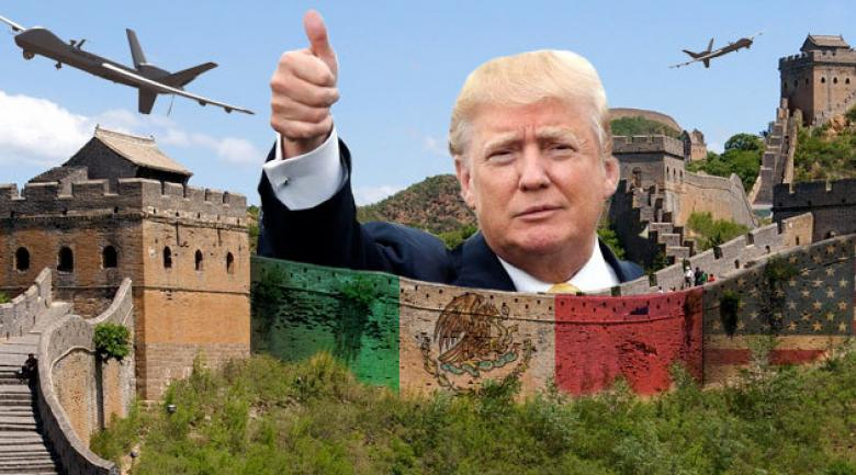 Trump About To Ask Congress To Build His 'Great Wall'