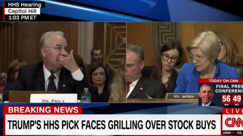 Tom Price Confirmed As HHS Secretary Despite Unresolved Ethics Issues