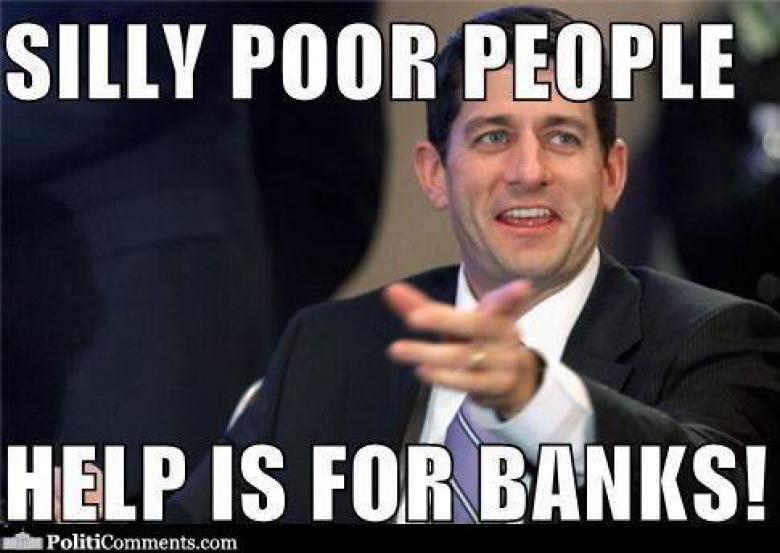 Republicans Out To Screw The Poor On Pre-Paid Debit Cards