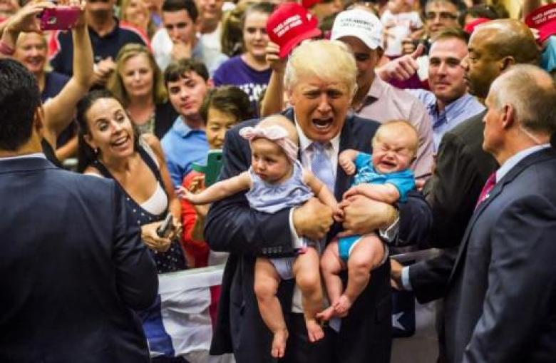 Man-Baby Trump Will Hold Florida Rally To Soothe His Bruised Ego