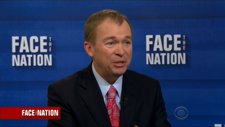 OMB Director Says He's Sacrificing By Having To Pay For His Own Business Cards