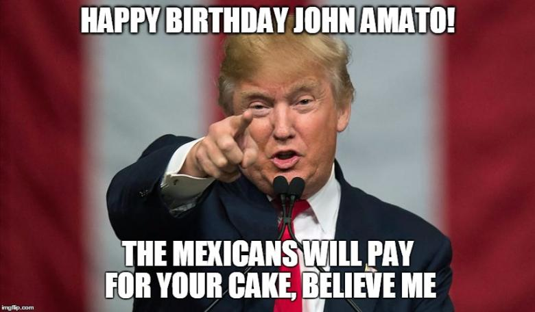 Open Thread - Happy Birthday To Our Own John Amato!