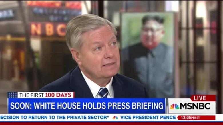 Lindsey Graham: Preemptive Strike On N. Korea 'Terrible' But Would 'Not Hit America'
