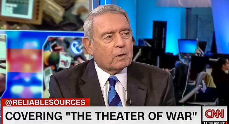 Dan Rather Tells Cable Pundits: 'Dropping Bombs Is Easy' But It Doesn't Make Trump Presidential