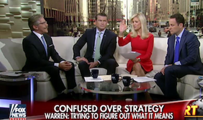 Fox's Earhardt Attacks Sen. Warren's Patriotism For Questioning Trump's War Strategy