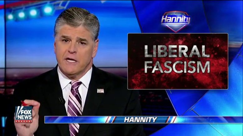After Being Accused Of Sexual Harassment By A Conservative, Hannity Blames 'Liberal Fascists'