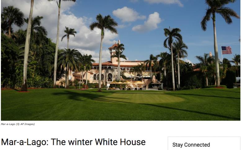 Trump Promotes Mar-a-Lago On Official State Dept. Websites