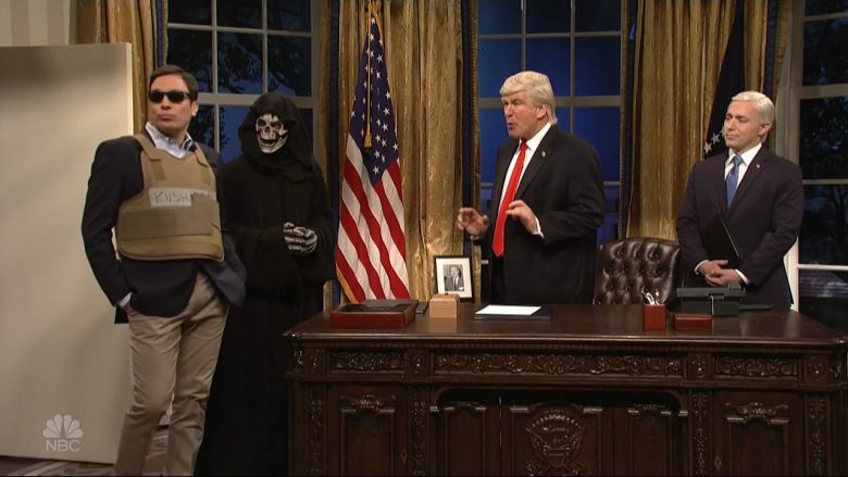 SNL: Trump Pits Kushner And Bannon In Apprentice-Style Showdown