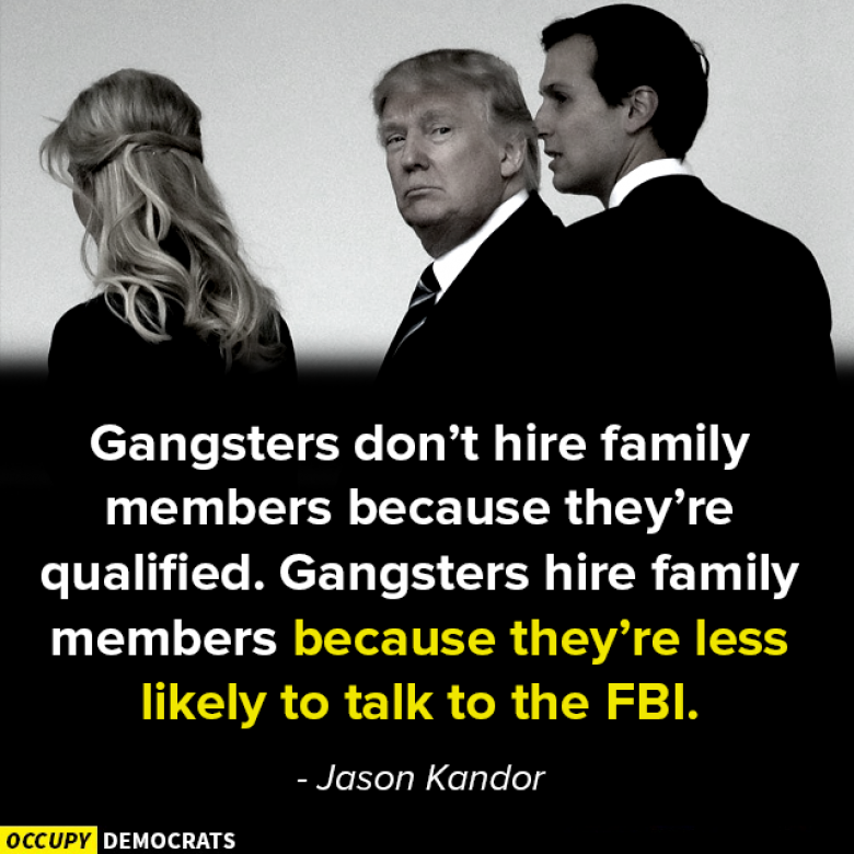Open Thread - That's Why It's Called 'The Family'