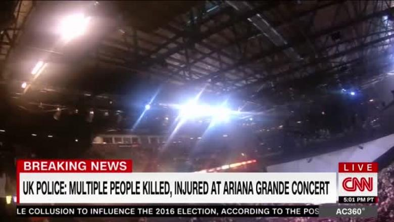 Large Explosion At Manchester, England Arena Leaves Many Dead And Injured