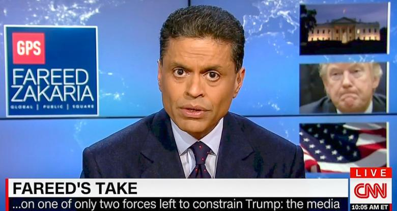 Fareed Zakaria: The Republican Party Is A 'Platform To Support The Ego Of One Man And His Family'