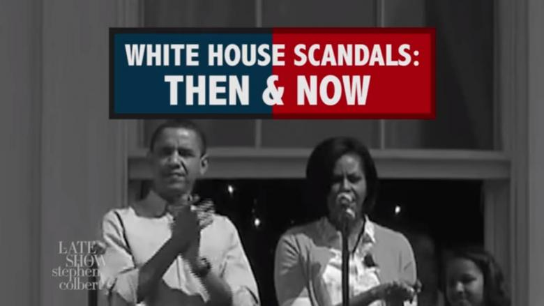 Open Thread - White House Scandals Then And Now...