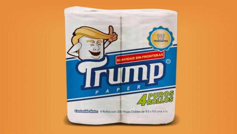 Mexican Lawyer Markets 'Trump' Toilet Paper