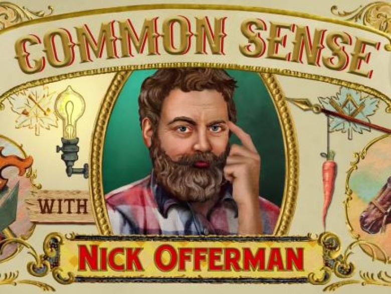 Open Thread - Common Sense From Nick Offerman