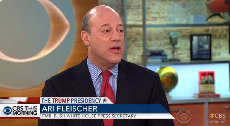 Ari Fleischer's Eternal Shriek To Trump