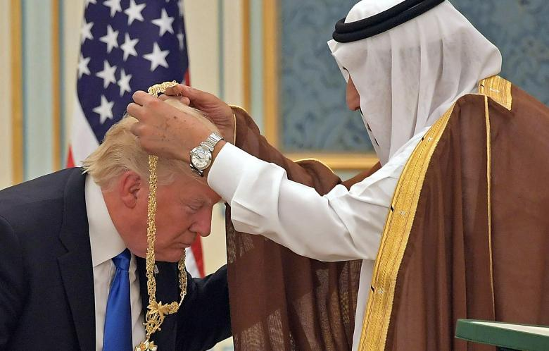 Trump's Saudi 'Arms Deal' Was 'Fake News' - He Piggybacked On Obama Again