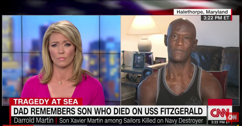 Navy Sailor's Dad Talks To CNN About His Lost Son