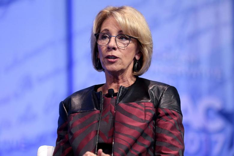 Teachers' Union Boss Gives DeVos What For