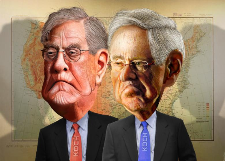 The Kochtopus Is Ready To Slime Tax 'Reform'