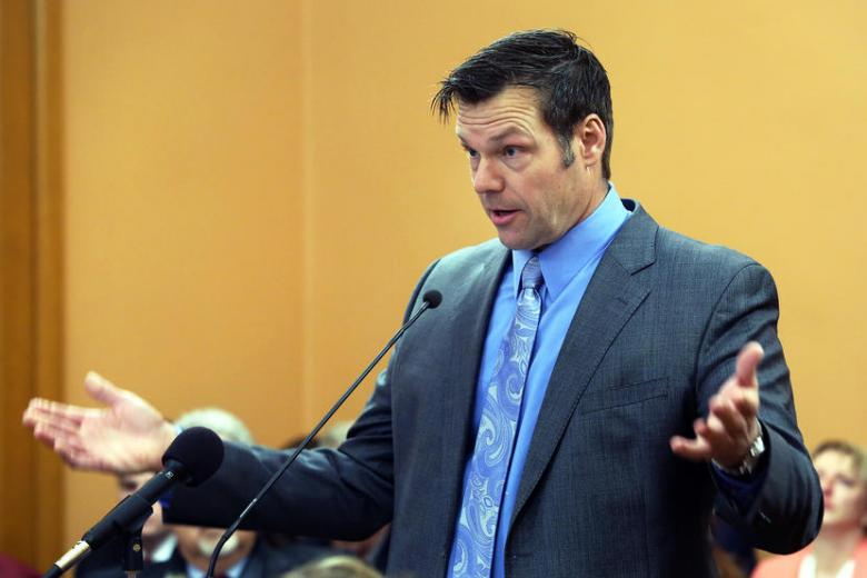 Kris Kobach Inexplicably Skips Annual Secretaries Of States Meeting