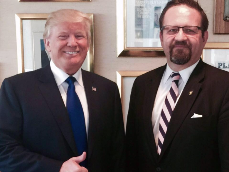 UPDATED: Seb Gorka FIRED From The White House
