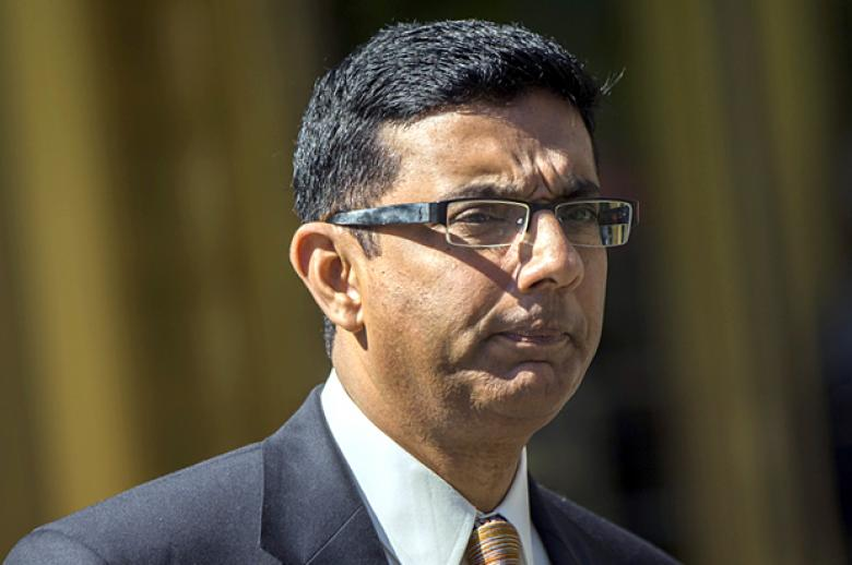 D'Souza Tiresomely Works The Refs Again