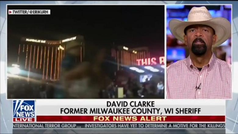 David Clarke: The Left Broke Into A 'Happy Dance' Over Las Vegas Shooting