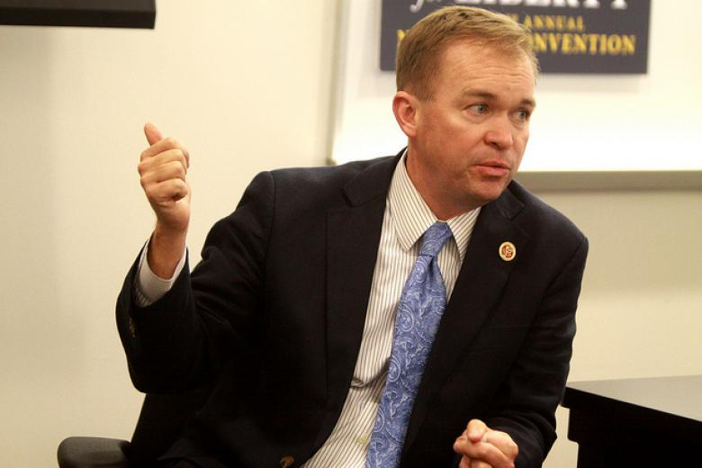 White House Sees No Conflict Of Interest With Apple And Mick Mulvaney