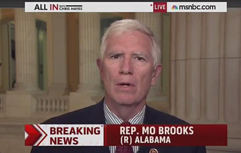 Mo Brooks: Roy Moore Treated Young Girls Like 'An Officer And A Gentleman'