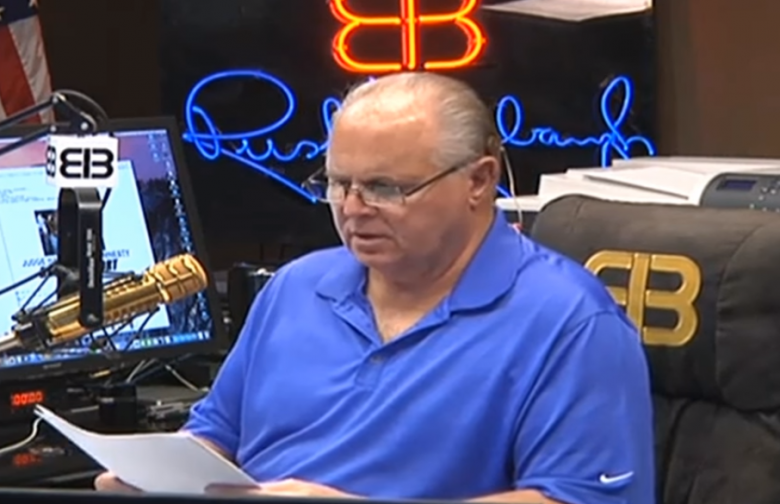 Rush Limbaugh Blames Mass Shootings On Day Care