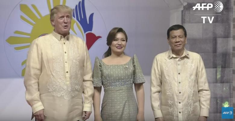 Trump Laughs As Duterte Calls Journalists 'Spies'