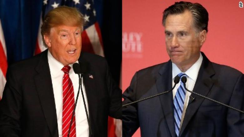 Petty Is As Petty Does: Trump Asks RNC Chair To Stop Using 'Romney' Name