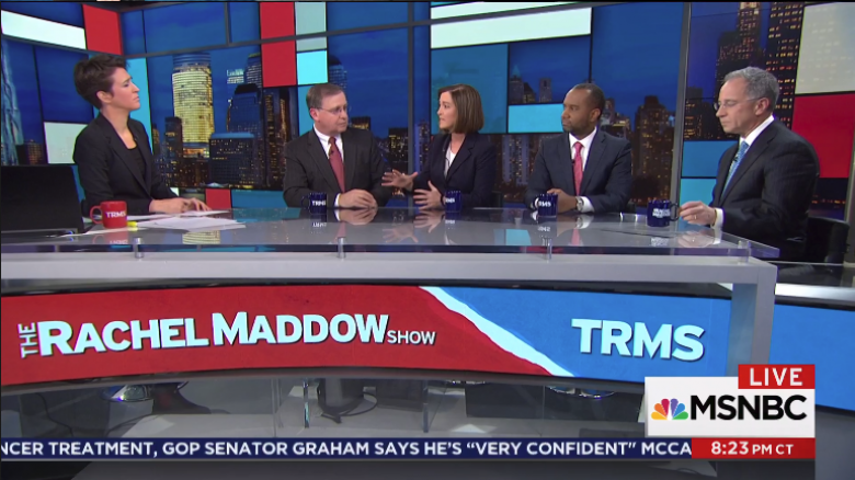 Maddow Holds Master Class With Former U.S. Attorneys To Explain Mueller Probe