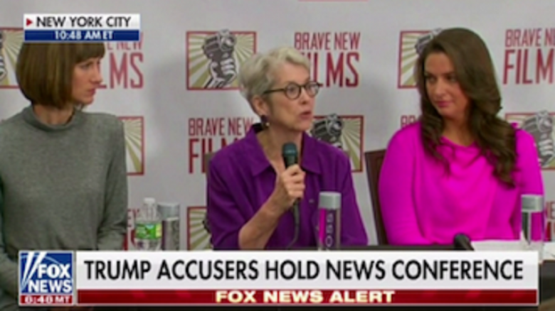 Here's How Fox 'Covered' The Press Conference Of Donald Trump's Accusers