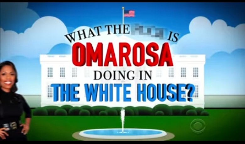 Reports: Omarosa Didn't Quit, Was Escorted From WH Shouting Profanities