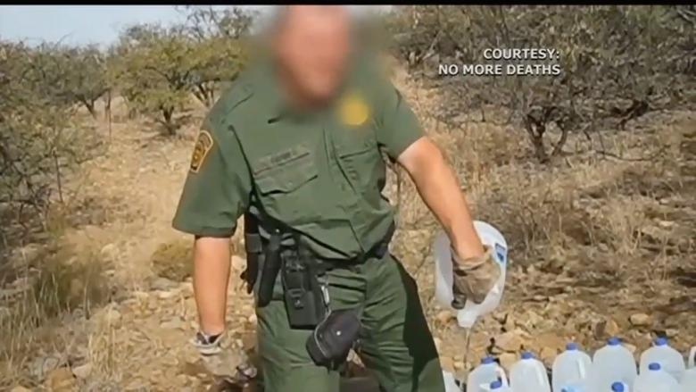 Border Patrol Arrests Humanitarian Worker After Video Catches Agents Emptying Water Jugs Left For Immigrants
