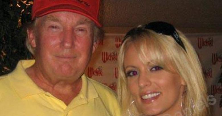 Trump Sinks Lower, Calls Stormy Daniels 'Horseface'