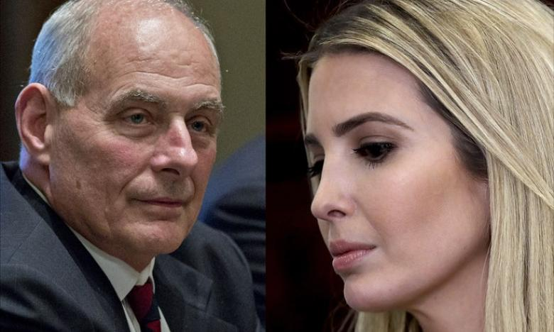Is Ivanka Trying To Push John Kelly Out?