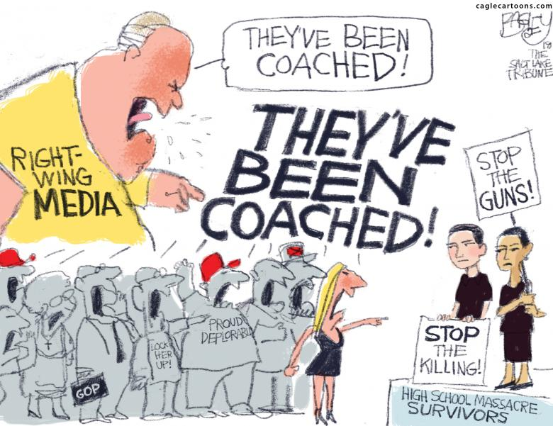 Open Thread:  Scripted And Coached?