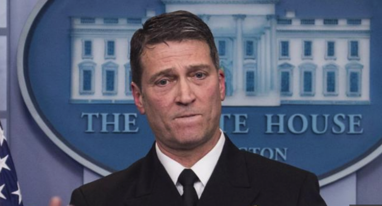 Dr. Ronny Jackson Withdraws From VA Nomination