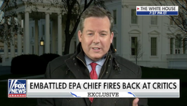 Was Fox's Ed Henry Working In Cahoots With Gen. Kelly For Contentious Pruitt Interview?