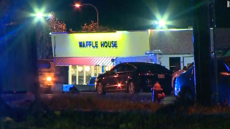 Four Gunned Down At Tennessee Waffle House By Man Armed With An 'Assault Style Rifle'