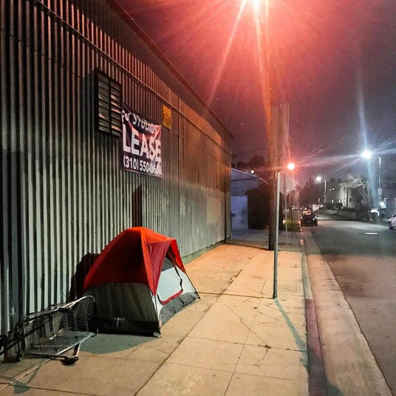 Why There Are So Many Unsheltered Homeless People On The West Coast
